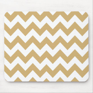 Putty Neutral Chevron Mouse Pad
