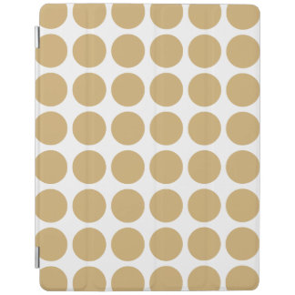 Putty Neutral Dots iPad Smart Cover