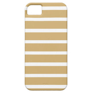 Putty Neutral Stripes iPhone SE/5/5s Case