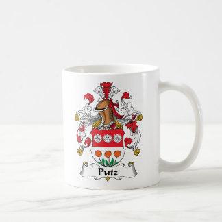 Putz Family Crest Classic White Coffee Mug