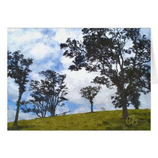 Puu Waawaa Summit Card