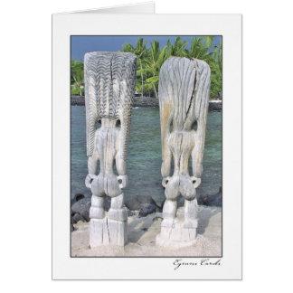 Pu'uhonua Tiki Rears Card