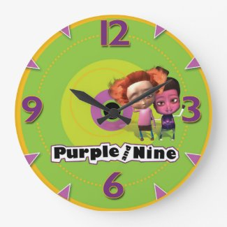 Puurple and Nine on Time