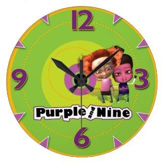 Puurple and Nine on Time