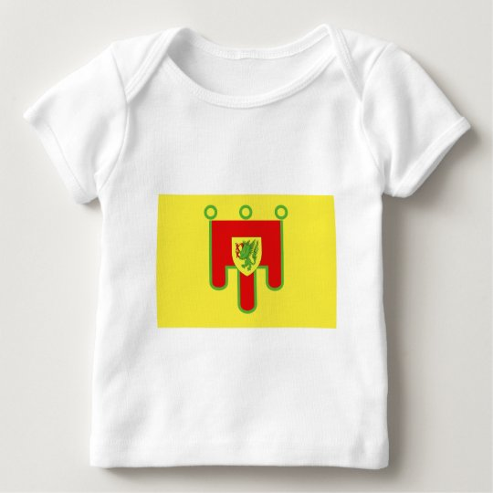 Puy-de-Dôme flag Baby T-Shirt