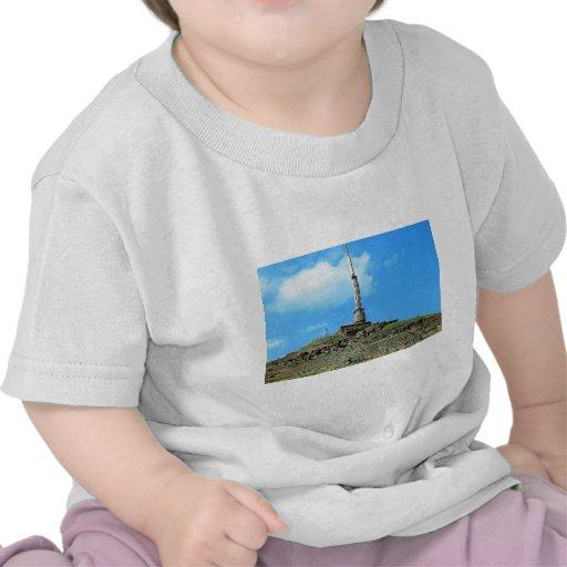 Puy de Dome, palo de la TV, templo de Mercury Camisetas
