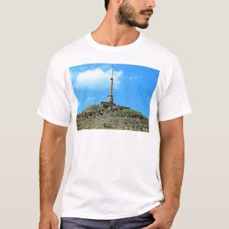 Puy de Dome, TV mast, Temple of Mercury T-Shirt