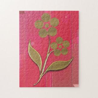 Puzle - móvil de flor