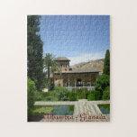 puzle paisaje Alhambra Granada España