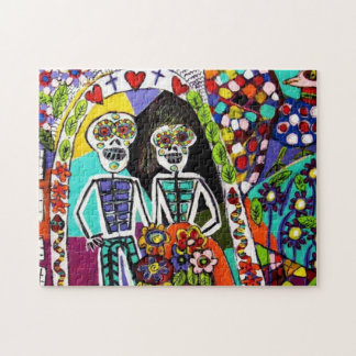 Puzzel - Day of the Dead Jigsaw Puzzles