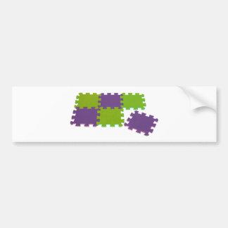 Puzzle052109 Bumper Sticker