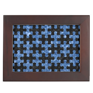PUZZLE1 BLACK MARBLE & BLUE MARBLE MEMORY BOX