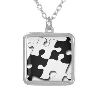 puzzle-11528-puzz silver plated necklace