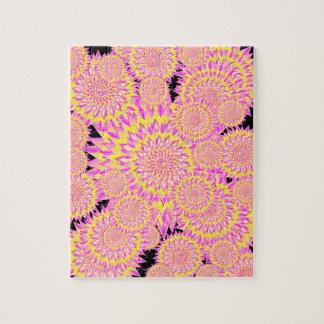 PUZZLE 150625.2 BURSTING FLOWERS