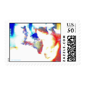 PUZZLE ABSTRACT POSTAGE