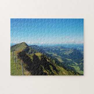 Puzzle alps with upper baptism in the Allgäu