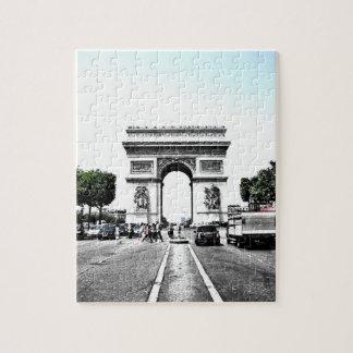 Puzzle -  Arc de triomphe, Paris