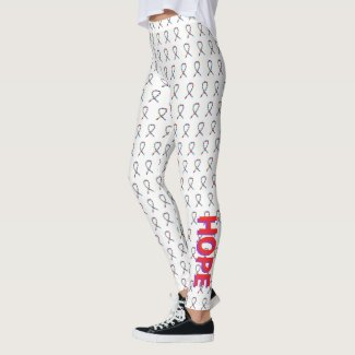 Puzzle ASD Autism Awareness Ribbon Custom Leggings
