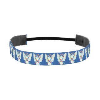 Puzzle Awareness Ribbon Angel Custom Headband