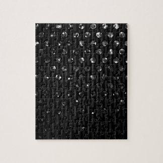 Puzzle Black Sparkley Jewels Jigsaw Puzzles