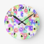 Puzzle Bubble Wall Clock