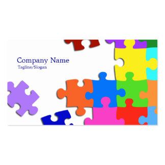 Puzzle Business Card Templates
