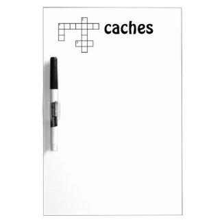 Puzzle Cacher Geocaching Custom Dry Erase Whiteboards
