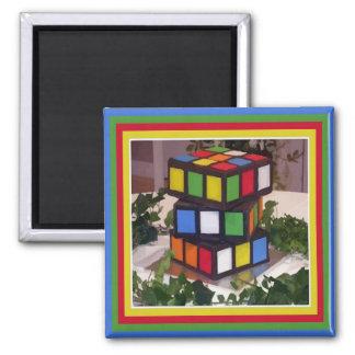 Puzzle Cake Magnet