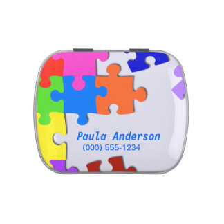 Puzzle Candy Tins
