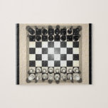 Puzzle: Chessboard and Chess Pieces
