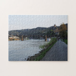 Puzzle Cochem Moselle bank in the evening