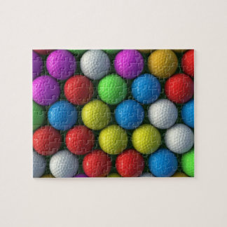 Puzzle | Coloured Golf Balls