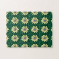 Puzzle - Daisy Crochet Pattern