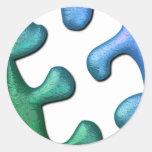 Puzzle Design Sticker