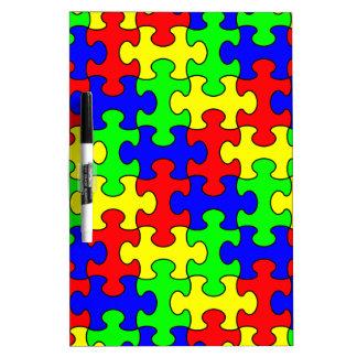 Puzzle Dry Erase board