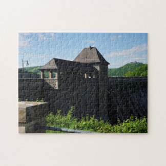 Puzzle Edersee concrete dam tower