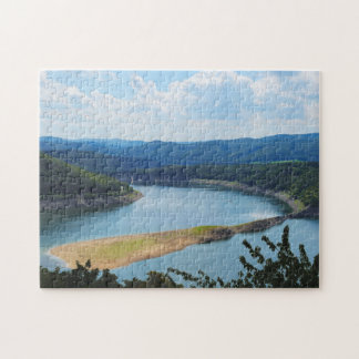 Puzzle Edersee in North Hesse