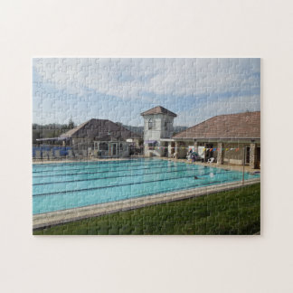 Puzzle: Everyone's Favorite Pool in Atascadero Jigsaw Puzzle