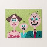Puzzle - family portrait