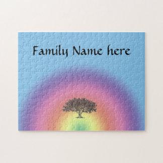 Puzzle - Family Tree - Rainbow
