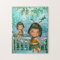 Puzzle Fantasy Fairy Girls