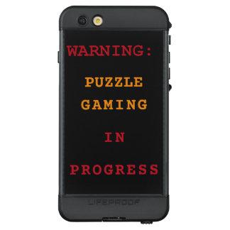 Puzzle Gaming In Progress LifeProof NÜÜD iPhone 6s Plus Case