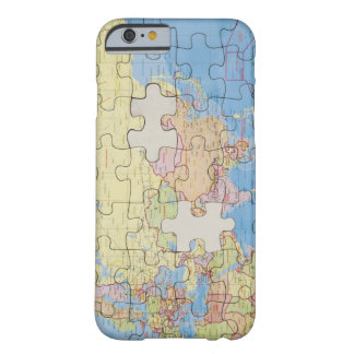 Puzzle Globe with two pieces missing Barely There iPhone 6 Case