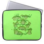 puzzle grün laptop schutzhüllen