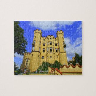Puzzle Hohenschwangau castel