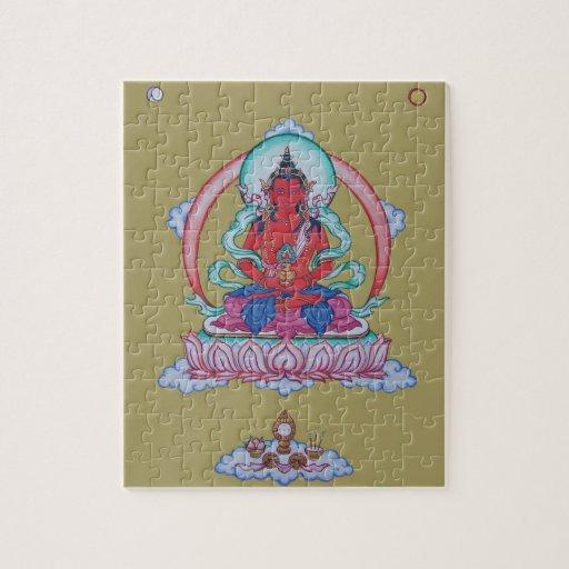 PUZZLE IN TIN - Amitayus - Buddha of Infinite Life