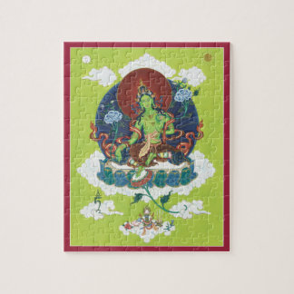 PUZZLE IN TIN - Green Tara - Mother of All Buddhas