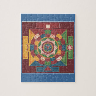 PUZZLE IN TIN  - Mandala of the 5 Elements