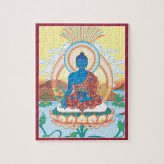 PUZZLE IN TIN - Medicine Buddha - Healing Master