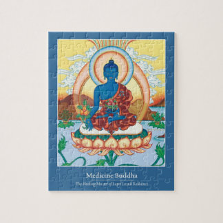 PUZZLE IN TIN -Medicine Buddha - Master of Healing